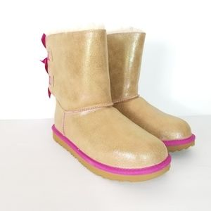 Ugg shimmer bailey bow boots